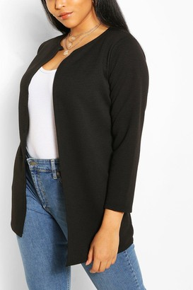 boohoo Plus Collection Rib Duster