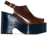 Marni platform wedge sandals