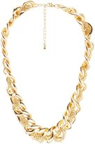 Charlotte Russe Plus Size Braided Chainlink Necklace