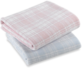 Bed Bath & Beyond Cover Me® Plaid Stroller/Receiving Blanket by UnderCover Inc., 100% Cotton