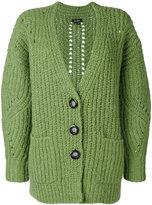 Isabel Marant long knitted cardigan - women - Wool/Alpaca/Polyester - 34