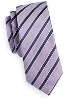 Sondergaard Herringbone Stripe Silk-Linen Tie