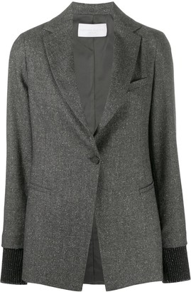 Fabiana Filippi Single-Breasted Fitted Blazer