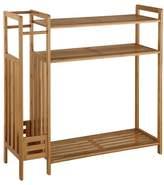 Organize It All Neu Home Bamboo Entryway Organizer
