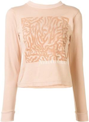 Maisie Wilen YS104 graphic T-shirt