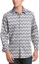 Robert Graham Airfield Road Classic Fit Woven Shirt