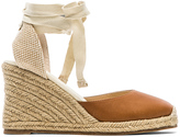 Soludos Leather Wedge