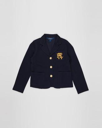 Polo Ralph Lauren Knit Cotton-Blend Blazer - Kids