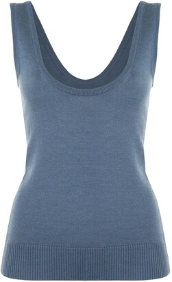 Lapointe Scoop-Neck Tank Top