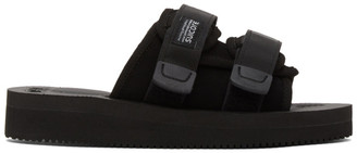 Suicoke Black Moto-VS Sandals