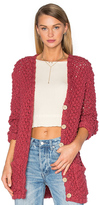 For Love & Lemons KNITZ Mulberry Cardigan