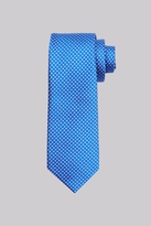 Moss Esq. Cobalt & Red Circle Silk Tie