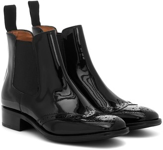 Church's Edith patent leather Chelsea boots