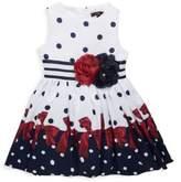 Imoga Little Girl's & Girl's Polka Dots Fit-&-Flare Dress