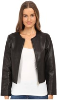 Kate Spade Zip-Up Leather Jacket