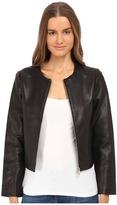 Kate Spade Zip-Up Leather Jacket