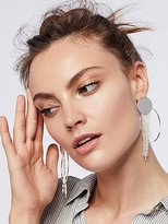 Free People Collins Fringe Hoops