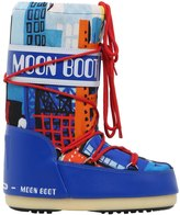 Moon Boot City Printed Nylon Snow Boots