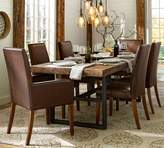 Pottery Barn Griffin Fixed Dining Table + Grayson Chair Set