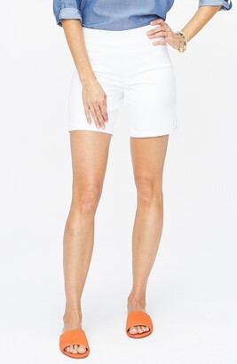 NYDJ Pull-On Denim Shorts