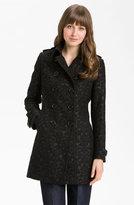 Kristen Blake Brocade Double Breasted Coat