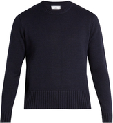 Ami Crew-neck wool-blend sweater
