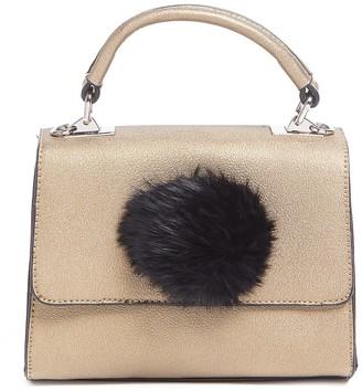 Tosca Pompom Strap Satchel Bag