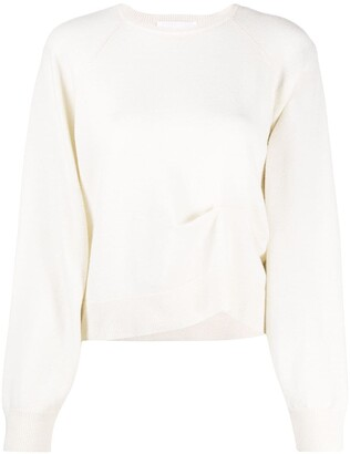 REMAIN Pinched Detail Wool Jumper
