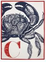 Thomas Paul C Crab Tea Towel