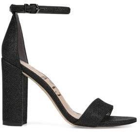 Sam Edelman Orient Express Yaro Leather Ankle-Strap Sandals