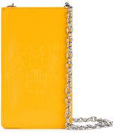 Kenzo Tiger phone shoulder bag - women - Calf Leather/Polyester/Polyurethane - One Size