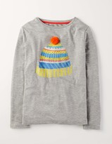 Boden Long Sleeve Embellished Tee
