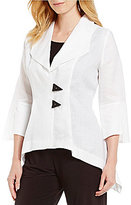 IC Collection 2-Button Front Jacket