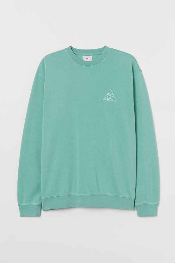 Thumbnail for your product : H&M Relaxed Fit Sweatshirt - Turquoise