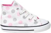 Converse Polka Dot Cotton Canvas High Top Sneaker