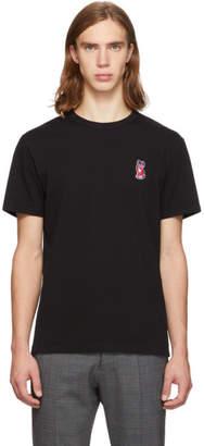 MAISON KITSUNÉ Black Acide Fox T-Shirt