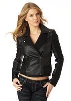 Ashley Ribbed Sleeve Jacket