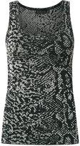 Cecilia Prado knitted tank - women - Acrylic/Lurex/Viscose - P