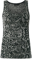 Cecilia Prado knitted tank - women - Viscose/Acrylic/Lurex - P