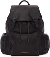 Burberry Black Large Leather Rucksack