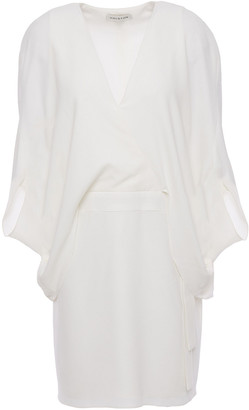 Halston Layered Cady Mini Dress
