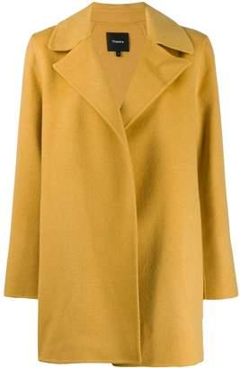 Theory Single Breasted Short Coat