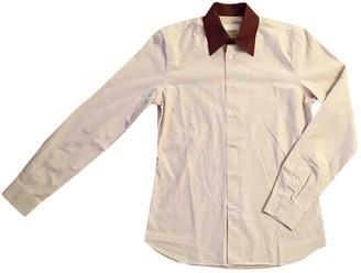 Prada Ecru Cotton Shirts