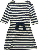 Anthem of the Ants City Bow Striped Dress