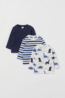 H&M 3-pack Cotton Shirts
