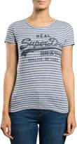 Superdry Vintage Logo Stripe Entry Tee