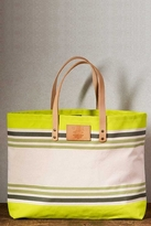 Will Leather Goods Bright Carry-All Bag in Green/Multi