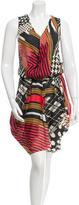 Zero Maria Cornejo Multi-Print Midi Dress