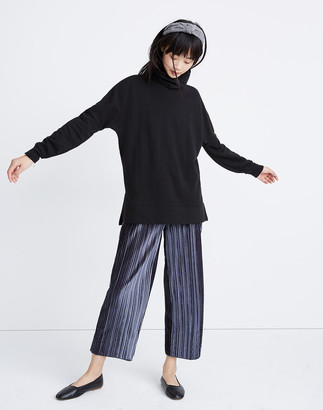 Madewell Turtleneck Tunic Sweatshirt