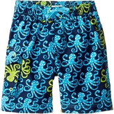 Hatley Deep Sea Octopus Boardshorts Boy's Swimwear